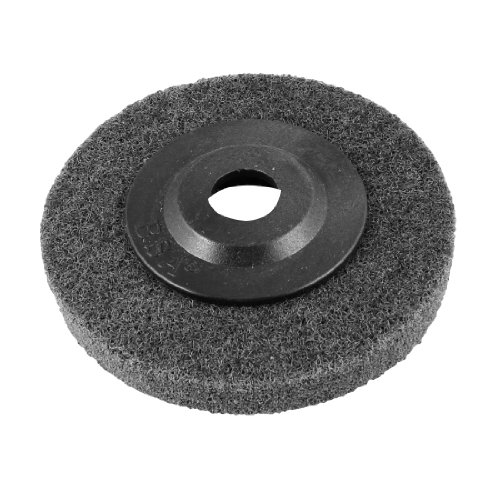 uxcell Round Shaped Metal Cleaning Nylon Polishing Scouring Abrasive Pad 4