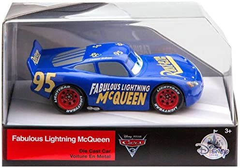 Lightning Mcqueen Fabulous Disney Cars 3 Diecast 1 43 Scale