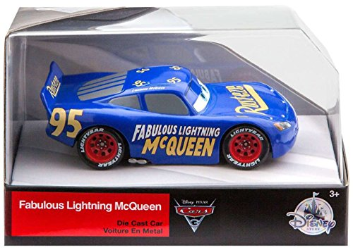 Lightning McQueen Fabulous Disney Cars 3 DieCast 1:43 Scale ()