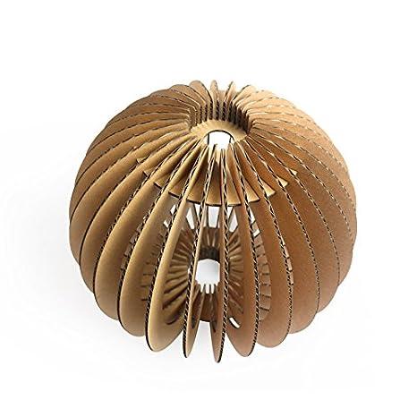 Amazon.com: Papel Maker bricolaje Cartón Art Deco – Lámpara ...