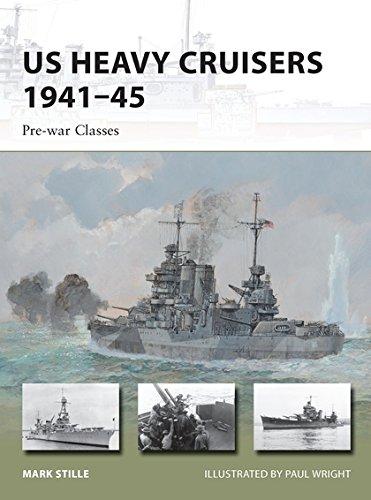 US Heavy Cruisers 1941–45: Pre-war Classes (New Vanguard) PDF Text fb2 ebook