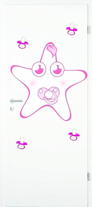 Baby decorativo para Baby Mixed Set 4 Color Rosa Chupete y 1 ...