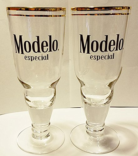 Modelo Especial Inverted Bottle Prestige Glass, Set of - Gold Modelo