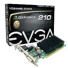 EVGA2 GeForce 210 Passive 1024 MB DDR3 PCI Express 2.0 DVI/HDMI/VGA Graphics Card 01G-P3-1313-KR