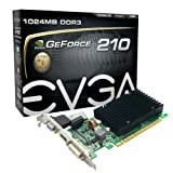 EVGA GeForce 210 Passive 1024 MB DDR3 PCI Express 2.0 DVI/HDMI/VGA