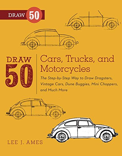 how to draw classic cars - 3