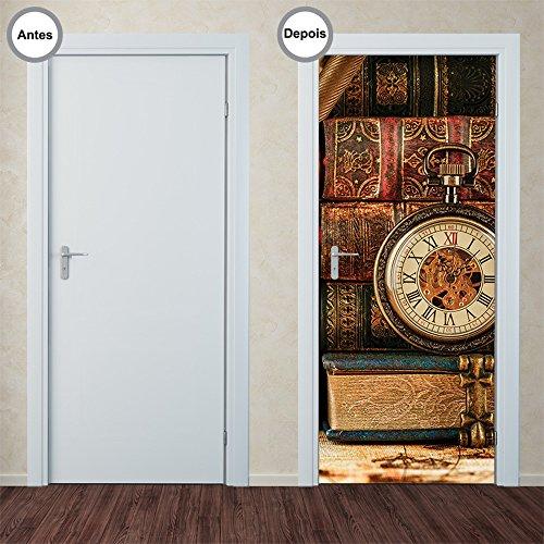 Adesivo Decorativo de Porta - Antiguidade - 313pt