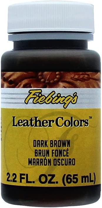 Fiebing/'s Leather Dye 4 FLOZ Dark Brown