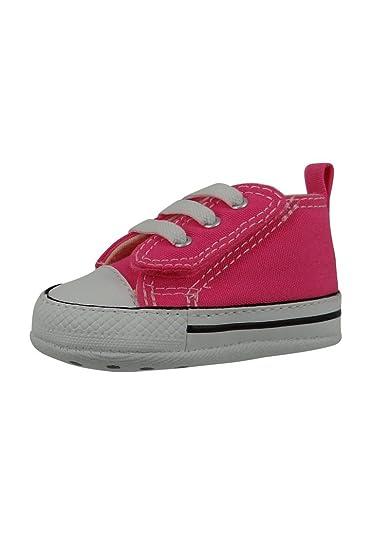 fef8aab88f188 CONVERSE - FIRST STAR EASY SLIP HI 857429C - pink