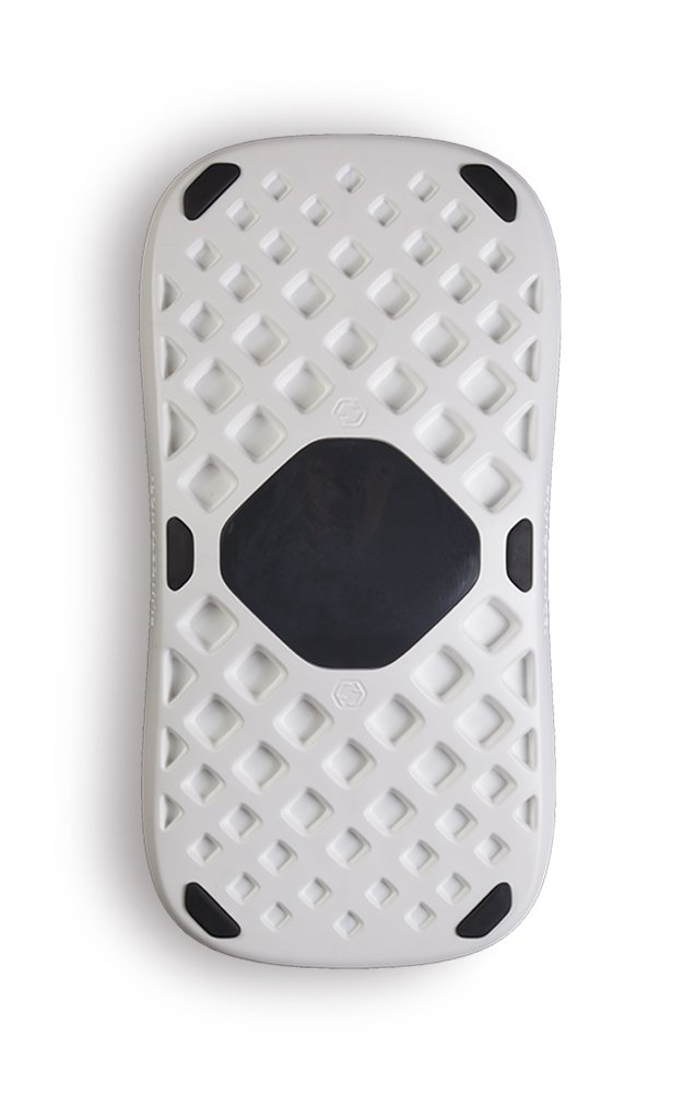 The Plane by FluidStance - Premium Motion Board - Standing Desk Balance Board - Designed to Keep the Body Moving - Improve Balance - Enhance Focus without Disrupting Workflow (Cumulus)