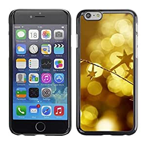 YOYO Slim PC / Aluminium Case Cover Armor Shell Portection //Christmas Holiday Gold Decorations 1095 //Apple Iphone 6