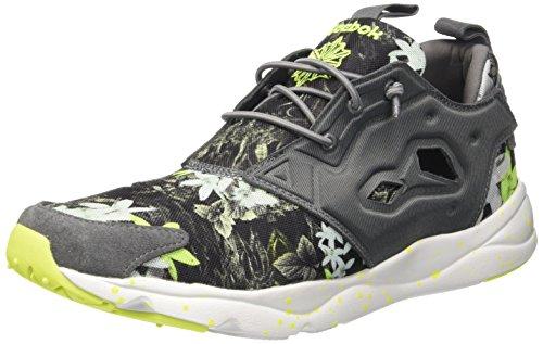 Reebok Classic Furylite Np Heren Sneakers, Maat Legering / Wit / Solar Geel