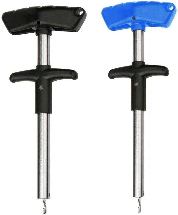 24 cm Outil de p/êche S/éparateur de Poisson Meteorax Noir Outil de p/êche Portable pour Minimiser Les blessures