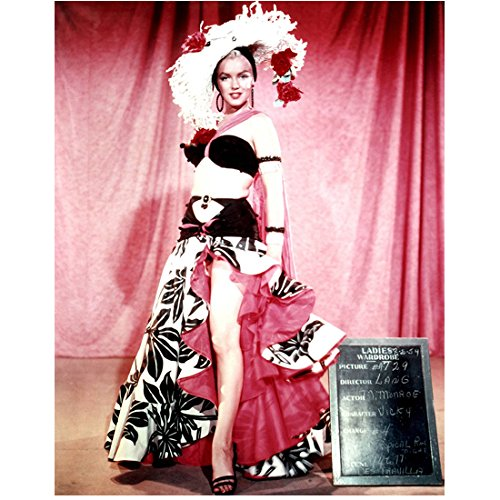 There's No Business Like Show Business Marilyn Monroe Ruffled Dress Costume Screen Test 8 x 10 ()