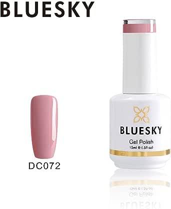 Bluesky Gel Nail Polish (DC072), Nude Pink, 15 milliliters