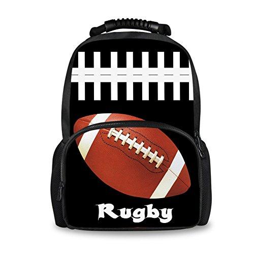 Showudesigns Animal Tiger with School Bags Softback football Backpack Head Fashion qgqwrxa4
