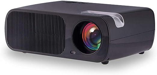 Proyector LED casero 1080P Full HD y Pantalla de 200 Pulgadas ...