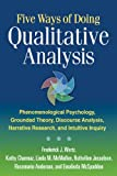 Five Ways of Doing Qualitative