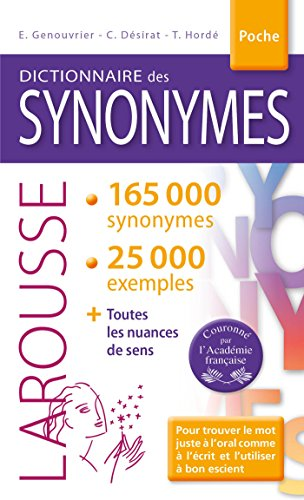 Larousse Dictionnaire des Synonymes (French Edition)