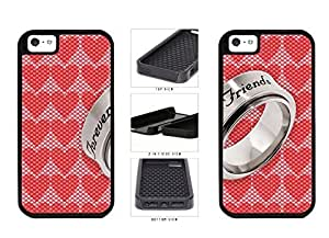 BFF Besties to Best from Friends Forever Silver observed Ring Dual remedy Layer Phone Case Back Cover Apple iphone 6 4.7