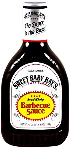 SWEET BABY RAY'S Original Barbecue Sauce Squeeze Bottle, 40 oz