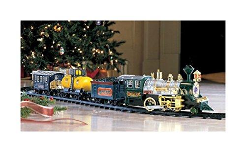 Christmas Train Under The Tree Set