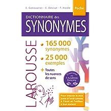 DICTIONNAIRE DES SYNONYMES DE POCHE