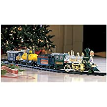 Deluxe Lights & Sounds Christmas Train Under The Tree Set