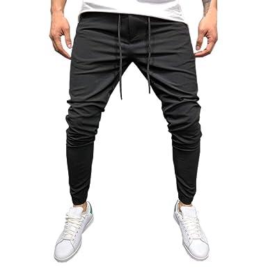 Chándal de Hombres Moda Pantalones de chándal de Hombre ...