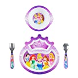 The First Years Disney Princess 4-Piece Feeding Set