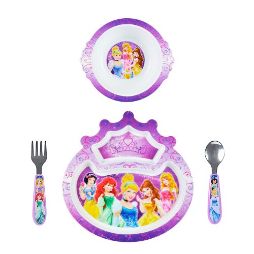First Years Princess 4 Piece Feeding