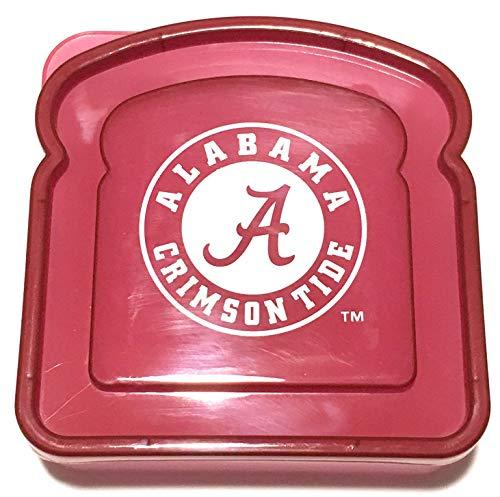 - Boelter Alabama Crimson Tide Lunch Box Sandwich Container