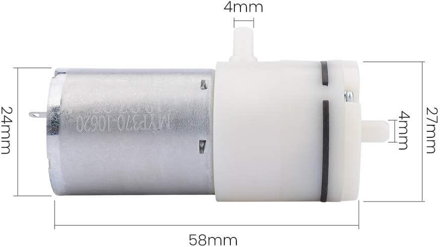 YIWMHE DC 24V Air Pumps Electric Micro Vacuum Pump Electric Pumps Mini Pumping Booster for Medical Treatment Instrument