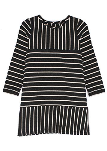 MABEL AND HONEY Sugar Plum Knit Striped Shift Dress
