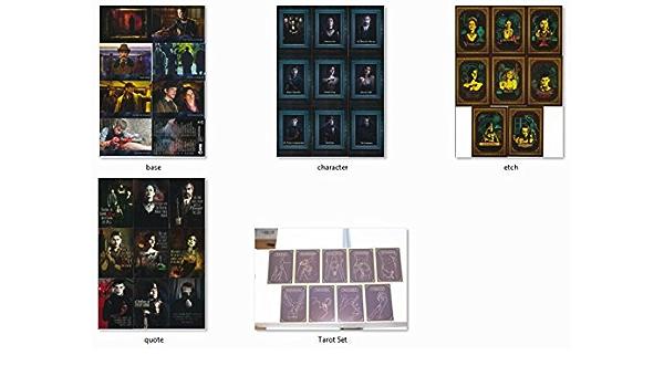 4 insert sets 107 cards Cryptozoic Penny Dreadful season 1 base set 1-72