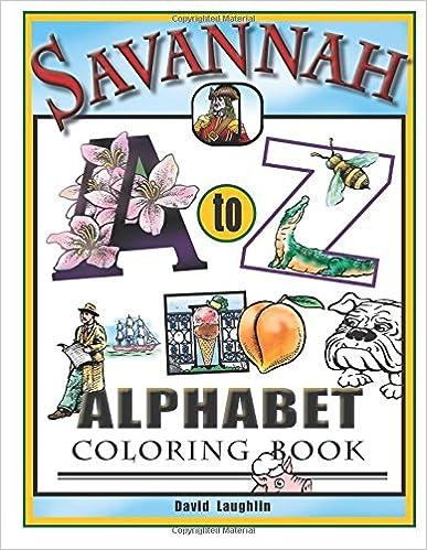❄ Kostenloser PDF-Datei-Ebook-Download Savannah Alphabet Coloring ...