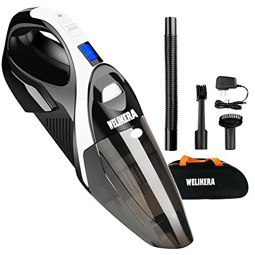 WELIKERA Handheld Vacuum, 12V 100W Powerful Portable Pet Han