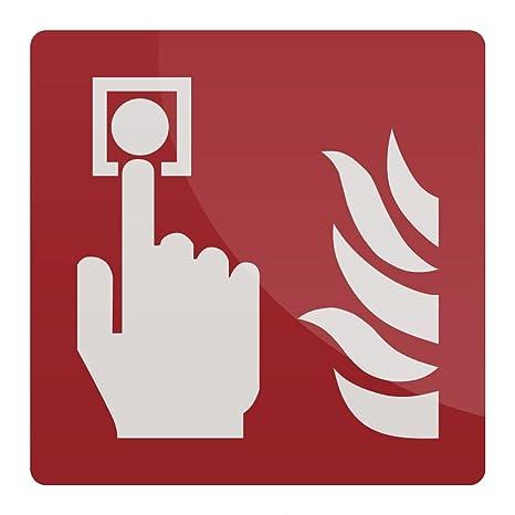 FIXMAN 417311 rígido Alarma de Incendio Llamada Punto ...