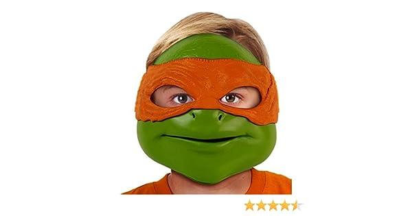 Desconocido Tortugas Ninja - Máscara para Disfraz de niño para niña a Partir de 4 años