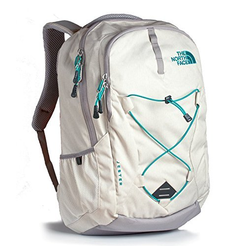 The North Face Women's Jester Backpack Grey/Green
