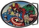 stark belt buckle - Jewel M Marvel Heroes Collage Round Belt Buckle