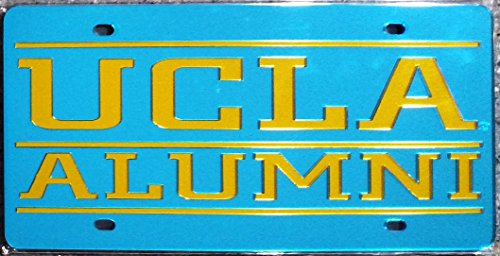 UCLA Bruins ALUMNI SD19827 Deluxe Laser Cut Acrylic Inlaid License Plate Tag University of California Los Angeles ()