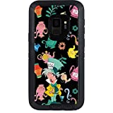 Skinit Alice in Wonderland OtterBox Defender Galaxy S9 Skin - The Mad Hatter Design - Ultra Thin, Lightweight Vinyl Decal Protection