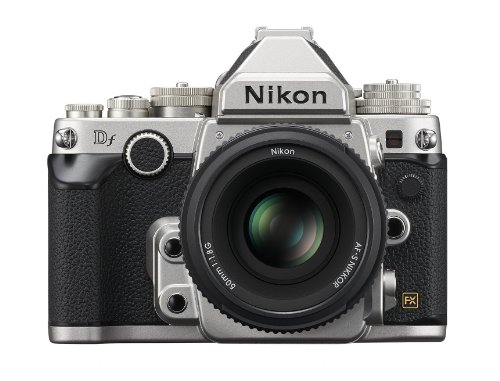 Nikon Df 16.2 MP CMOS FX-Format Digital SLR Camera with AF-S NIKKOR 50mm f/1.8G...