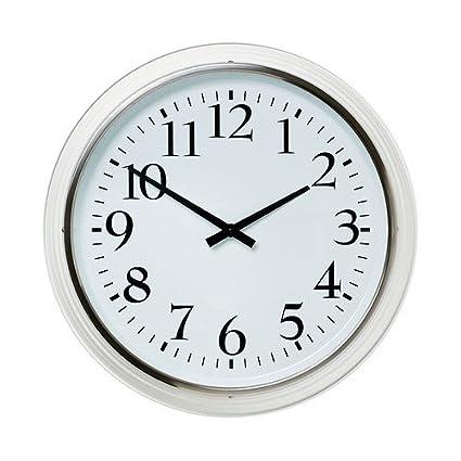 IKEA Bravur - Reloj de pared, blanco