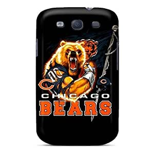 Excellent Galaxy S3 Cases Tpu Covers Back Skin Protector Chicago Bears by heywan