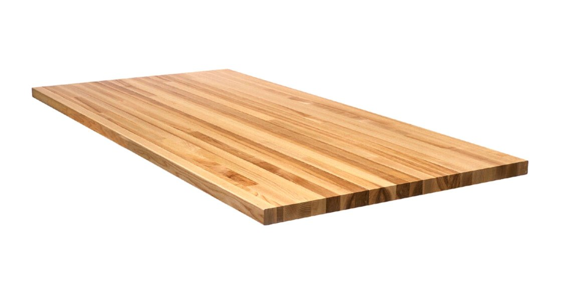 Maple Butcher Block 1-3/4'' Thick, 36'' Wide (36'' x 36'' x 1-3/4'')