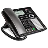 Ooma Telo DP1-T Desk Phone for The Home Office; Pairs wirelessly with Ooma Telo.