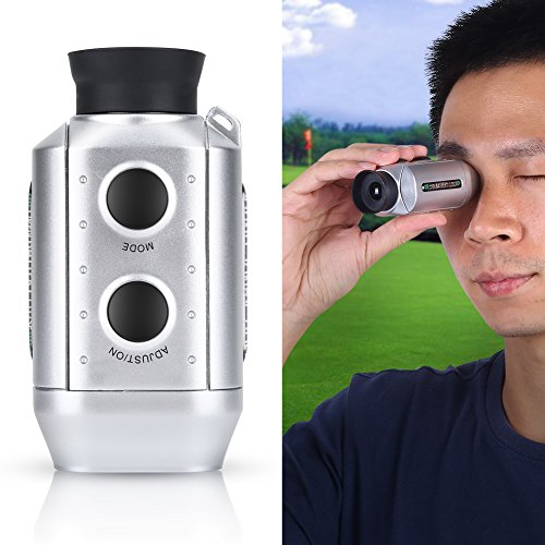 Golf Rangefinder, Handheld Golf Range Finder Hunting Telescope Distance Meter Tester by Dioche (Image #4)