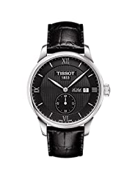 Tissot Le Locle T006.428.16.058.01 39mm Automatic Stainless Steel Case Black Calfskin Synthetic Sapphire Men's Watch